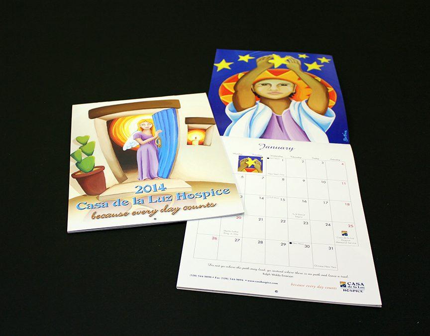 Casa de la Luz Hospice Calendar