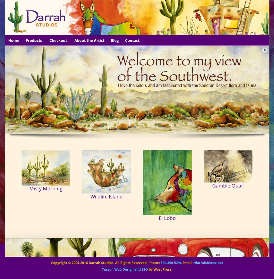 Darrah Studios Website