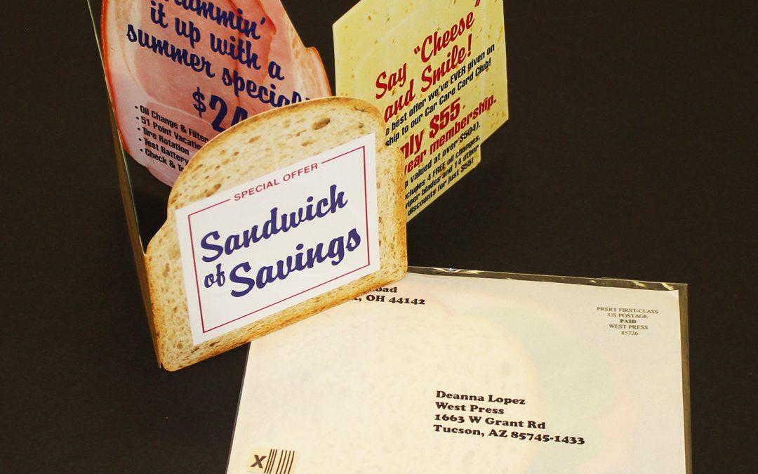 Customized Sandwich Mailer