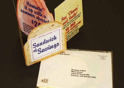 Customized Sandwich Mailer