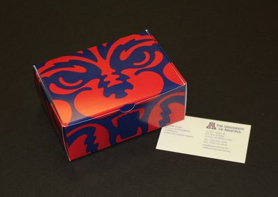 University of Arizona Business Card Box