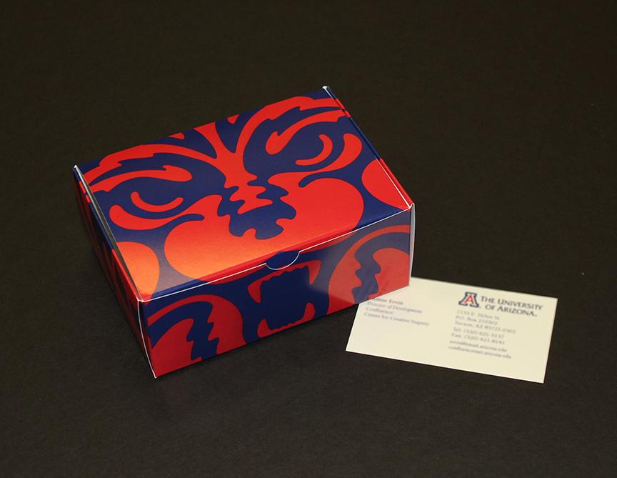 University of Arizona Business Card Box
