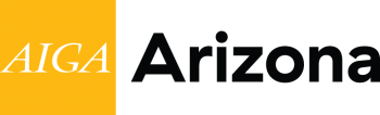 AIGA Arizona Logo Graphic Design Association in Arizona