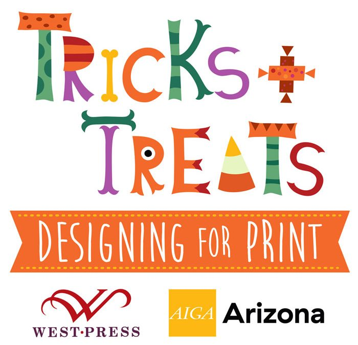 West Press Workshop: Tricks & Treats When Designing for Print