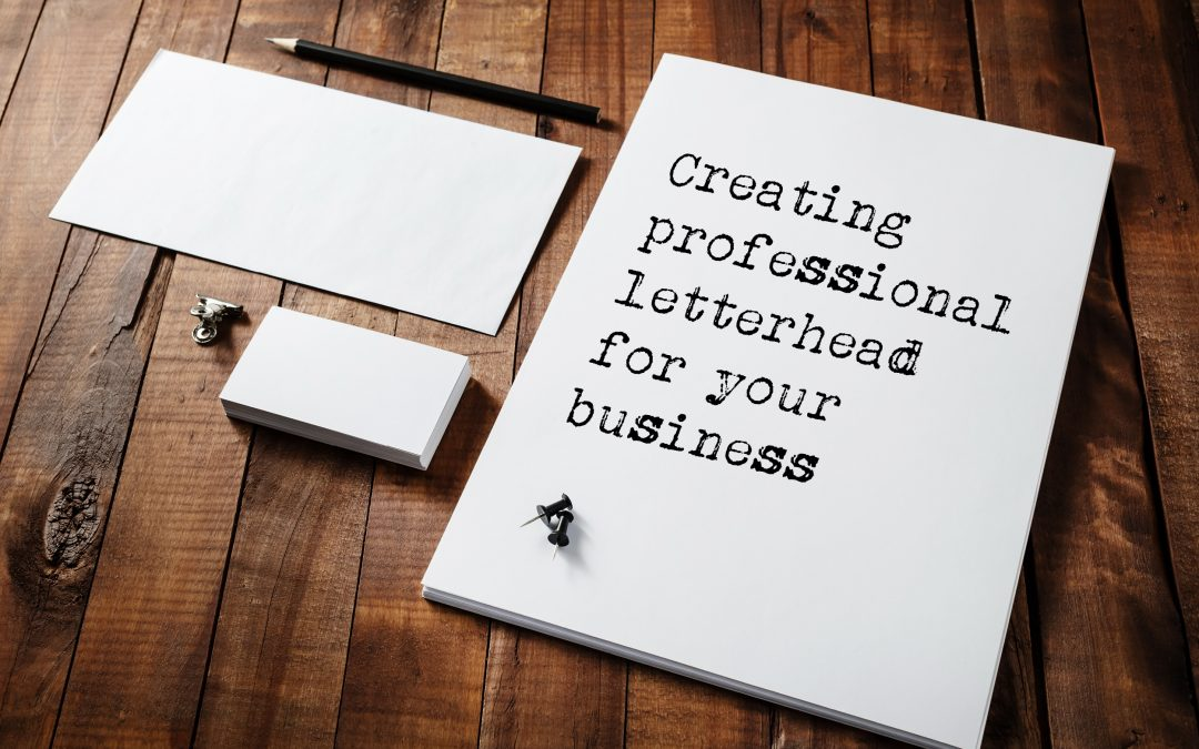 Creating professional letterhead for your business