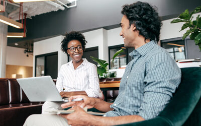 A little time can make a big difference when you become a work mentor