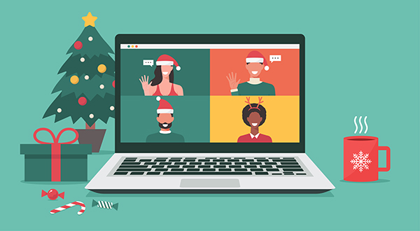 Virtual parties can make holidays merry and bright